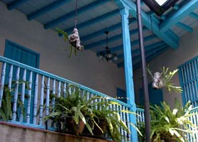 Hotel El Comendador havana interior