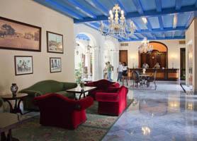 Hotel santa isabel havana reception